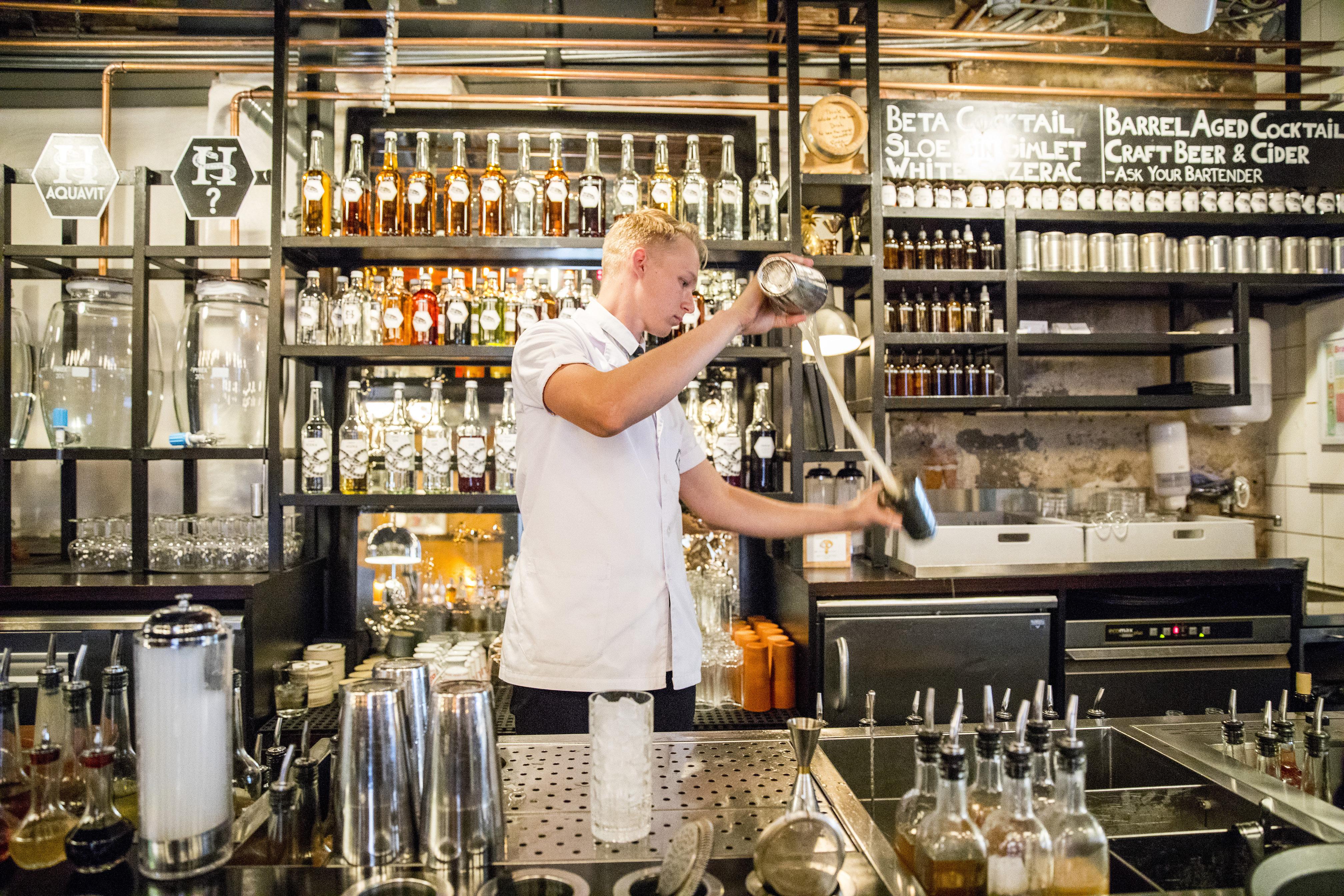 Aufrührer in Oslos Cocktail-Szene
