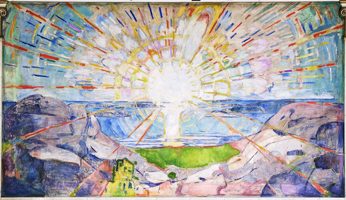 Edvard Munch: Solen/The Sun
