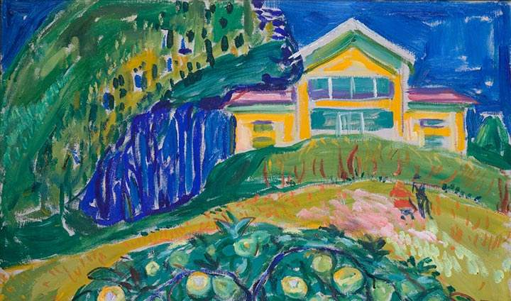 new products 30bca 48b6a Edvard Munch  Epletre i Hagen Apple Tree in the Garden
