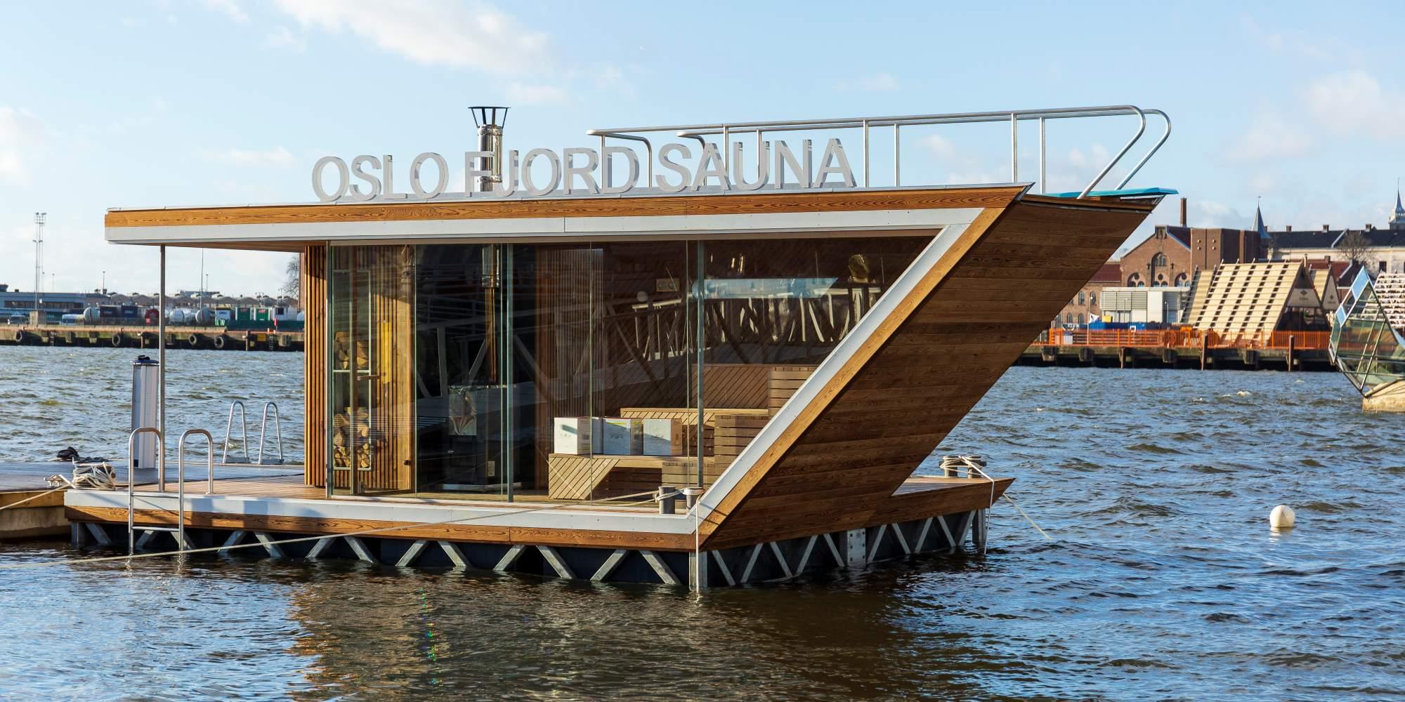 Spending Sunday In Floating Frozen >> Fjordside Saunas In Oslo Visitoslo Com