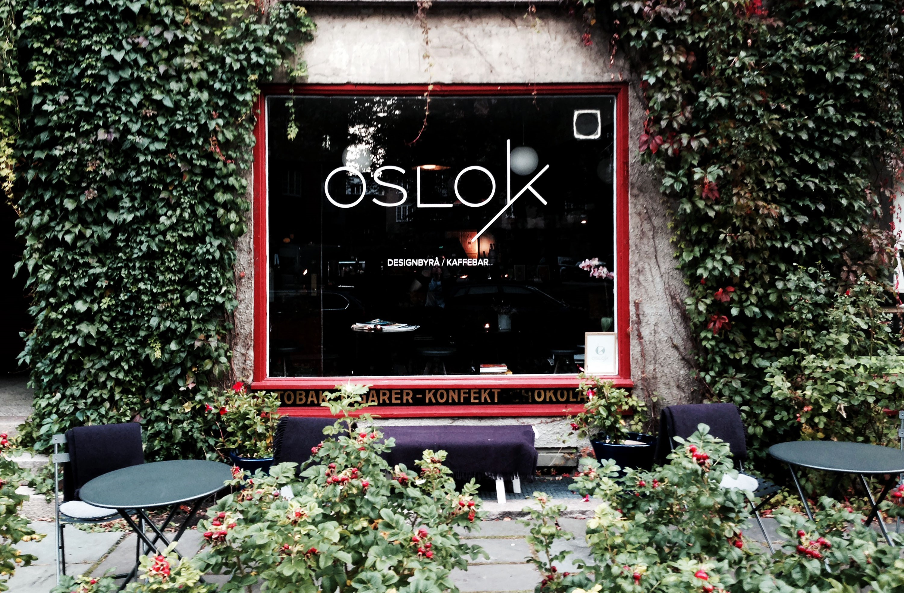 OsloK design agency and coffee shop