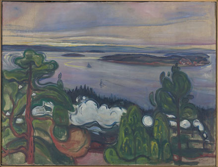 Edvard Munch: Togrøk (Train Smoke)