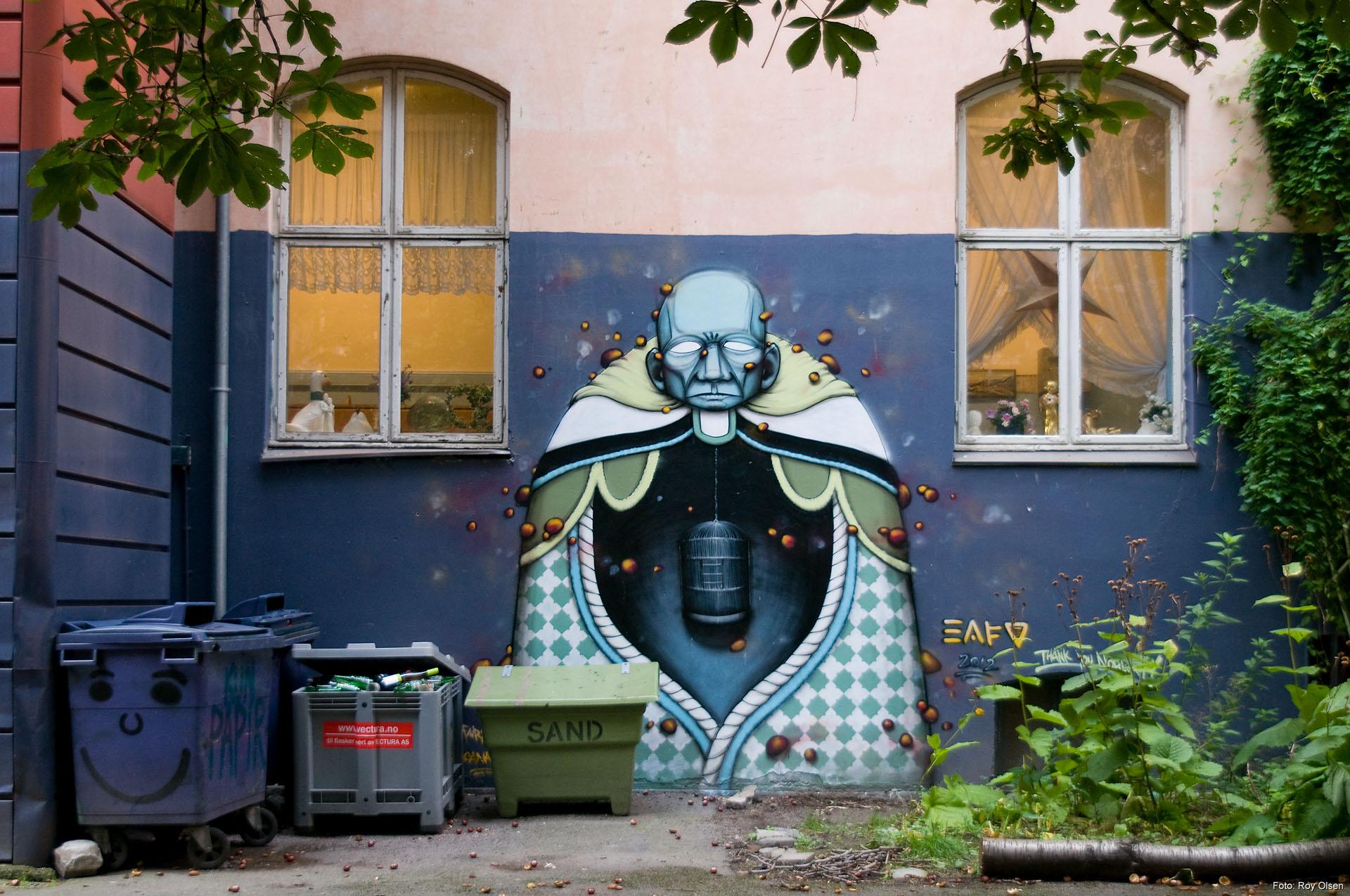 Grafitti art oslo - Eafo