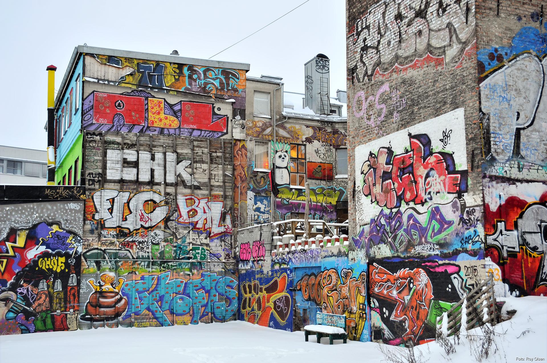 Grafitti art oslo - Hausmania Photo Roy Olsen