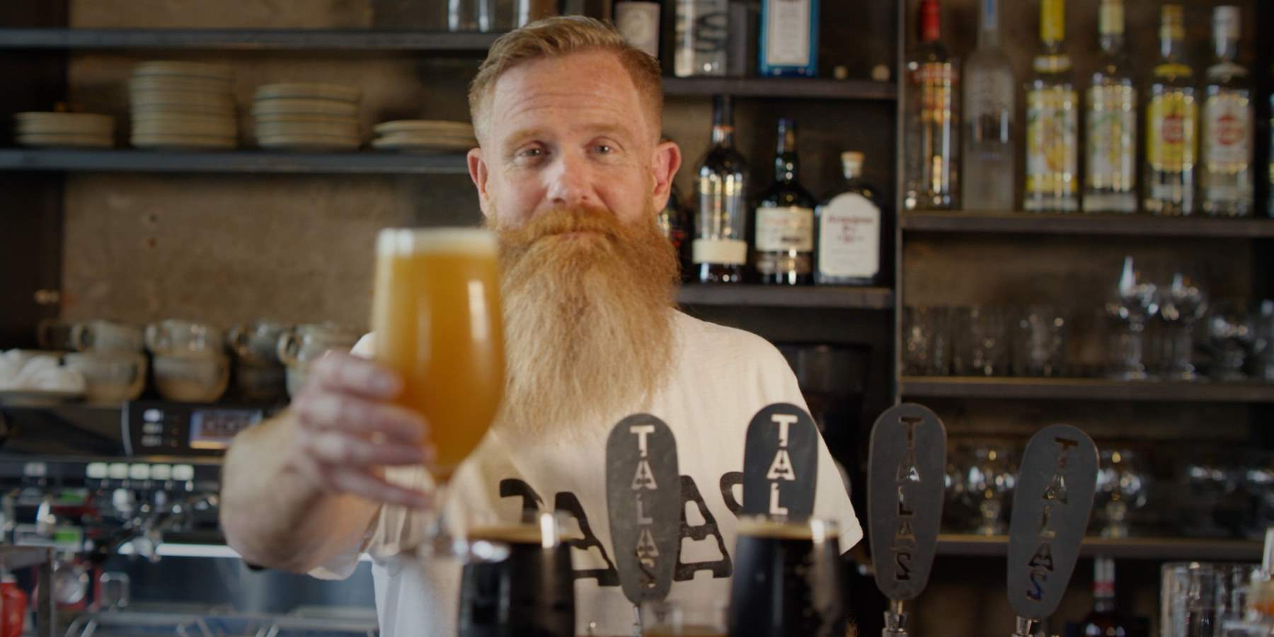 Jeremy Metzger, brewer in Hamar