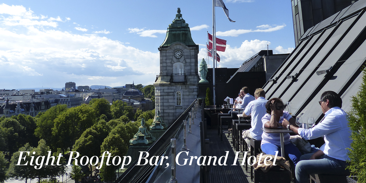 Eight Rooftop Bar, Grand Hotel