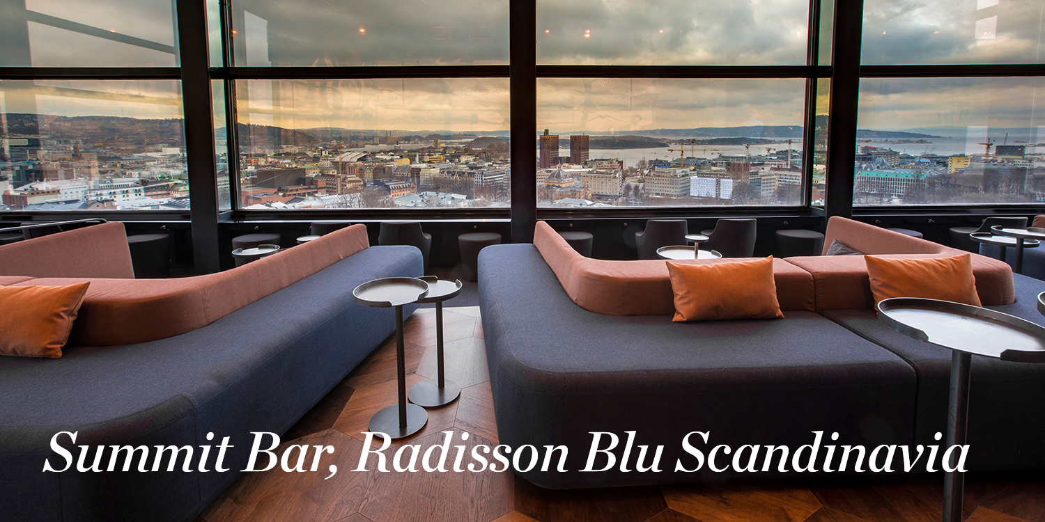 Summit Bar, Radisson Blue Scandinavia