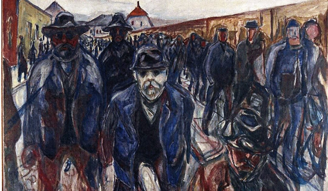 Edvard Munch: Arbeidere på hjemvei/Workers on their way home