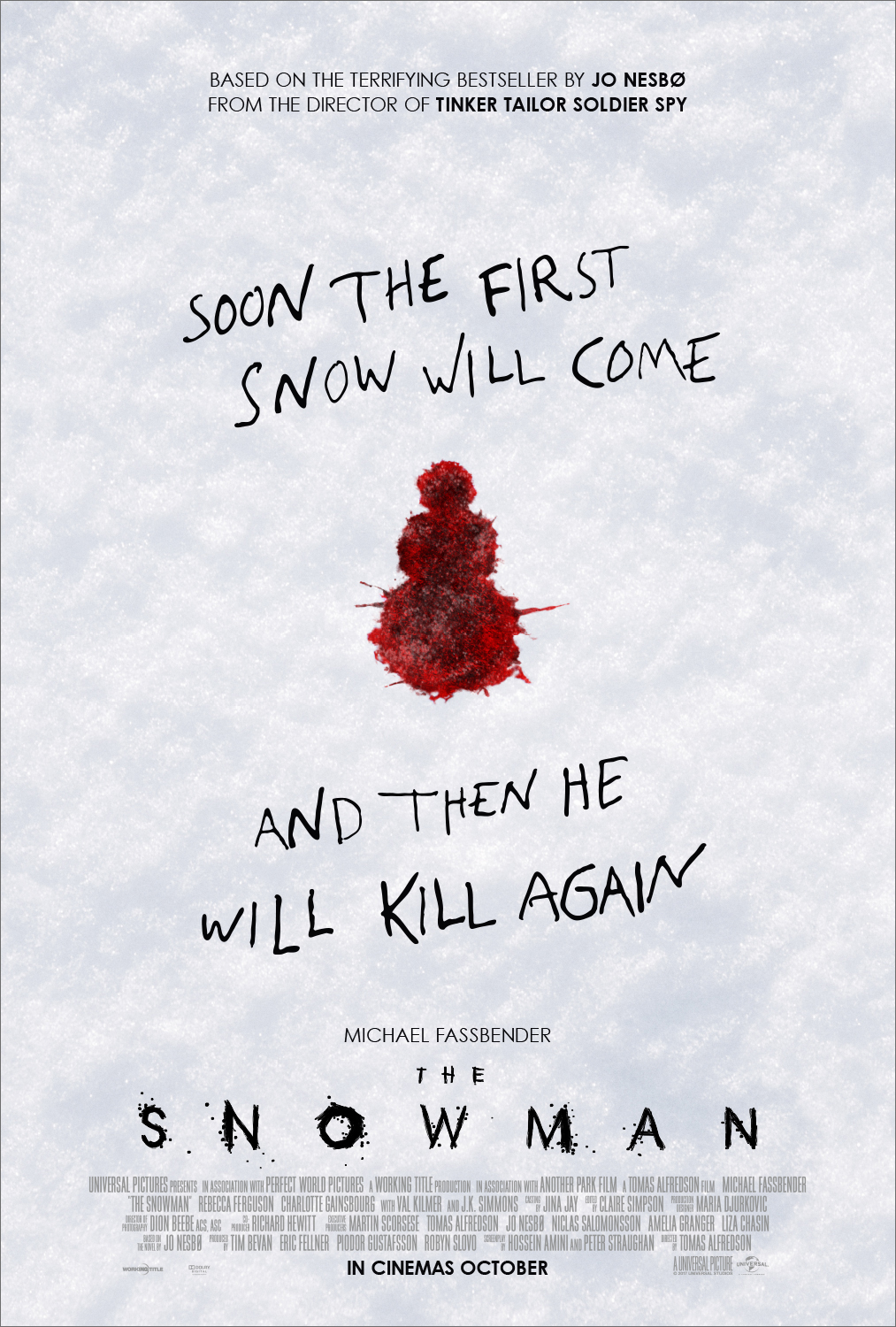 The Snowman by Working Title & Universal
