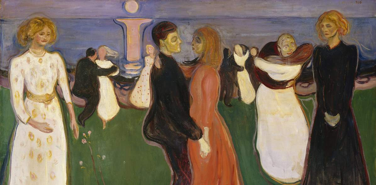 Edvard Munch: Livets dans/Dance of life