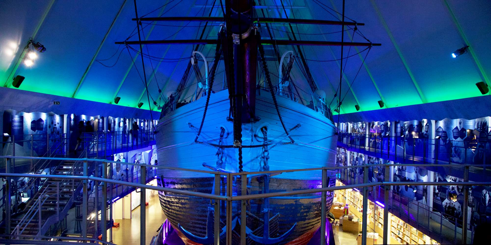Polar ship Fram at the Fram Museum, Oslo