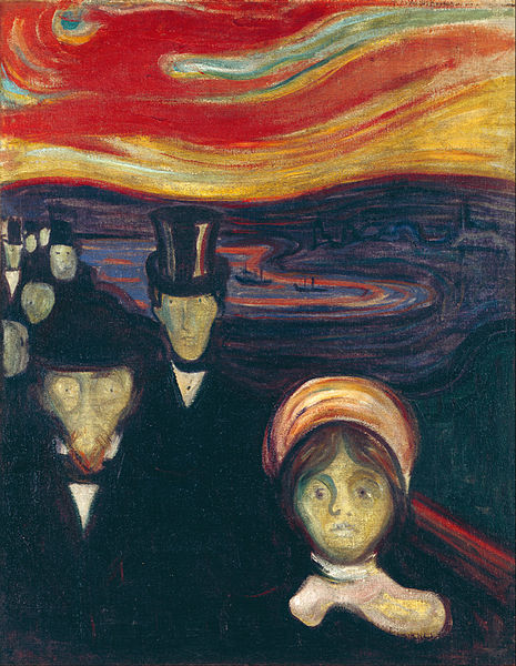 Edvard Munch: Angst/Anxiety