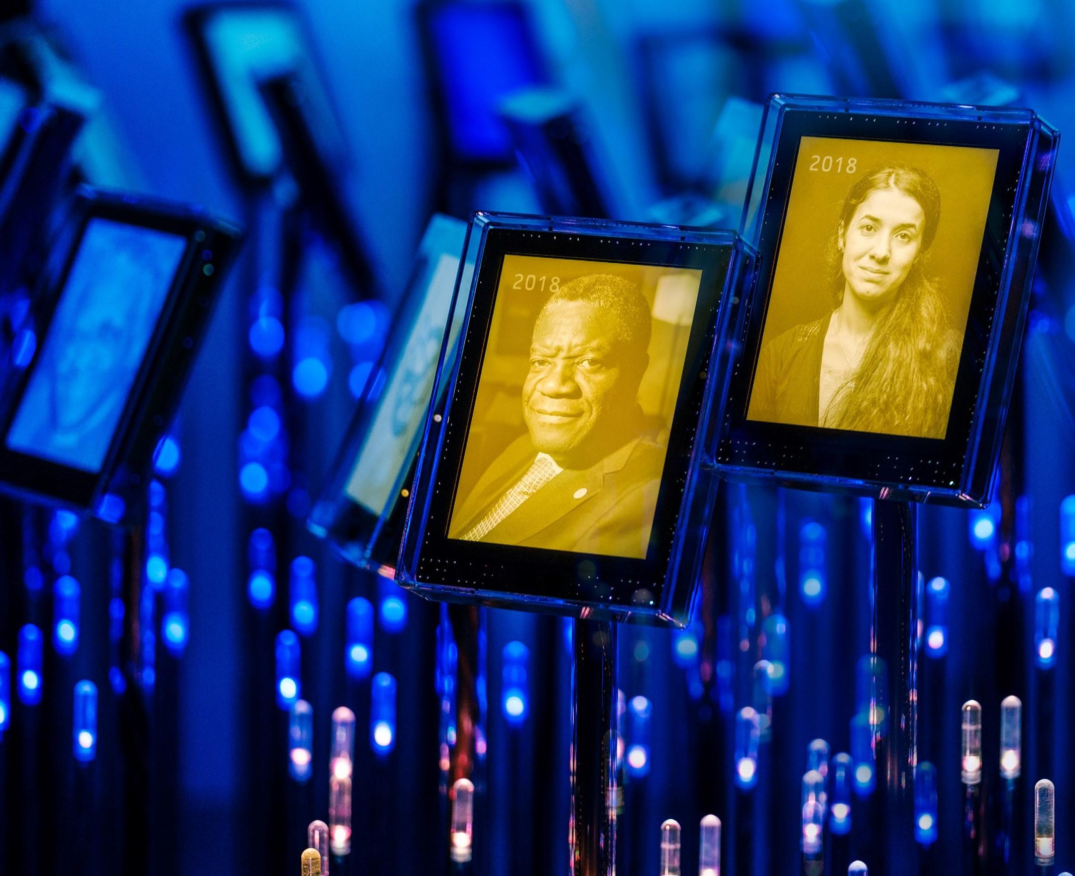 El Premio Nobel de la Paz - Oslo, Noruega 10 de diciembre