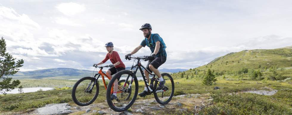 Biking in the Oslo region